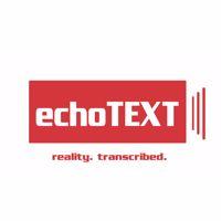 Echotext