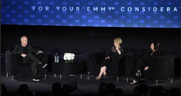 Sarah Paulson, Marcia Clark, And Ryan Murphy Talk Sexism, TV, & More At FX Event