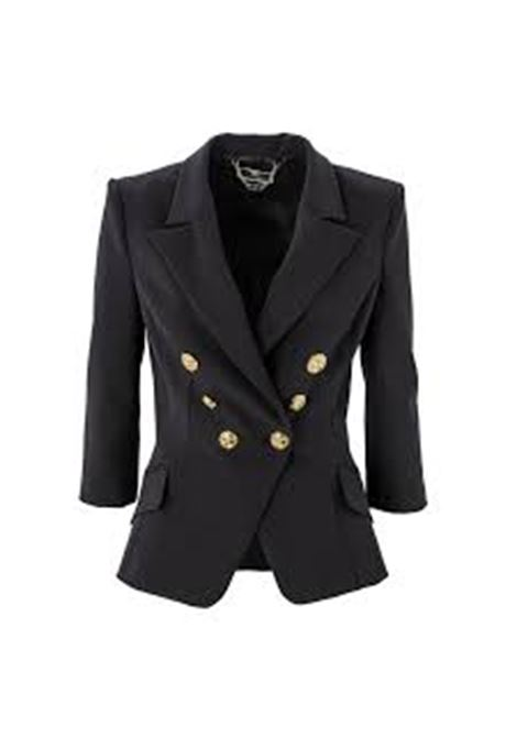 giacca corta con bottoni oro ELISABETTA FRANCHI | Giacca | GI97011E2110