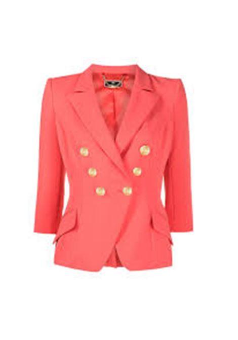 giacca corta con bottoni oro ELISABETTA FRANCHI | Giacca | GI97011E2620