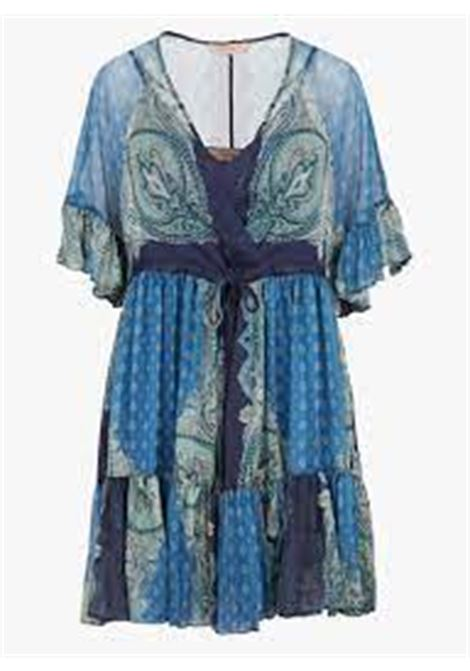 abito stampa foulard TWINSET COLLECTION | Abito | 211TT221206040