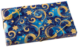 Happy Hanukkah Wrap