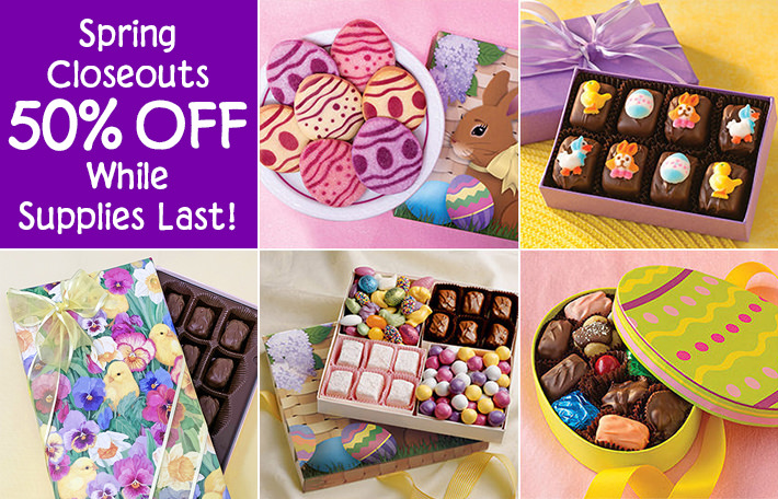Half Off Gifts for Easter and Spring!