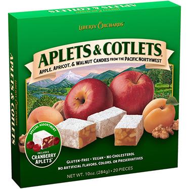 Aplets & Cotlets with Cranberry Aplets