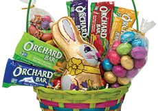 Chocolate Bunny Basket