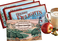 3-Pack of 8oz Holiday Delights Plus 32pg Story Book