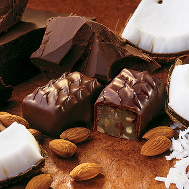 Dark Coconut-Almond Chocolates