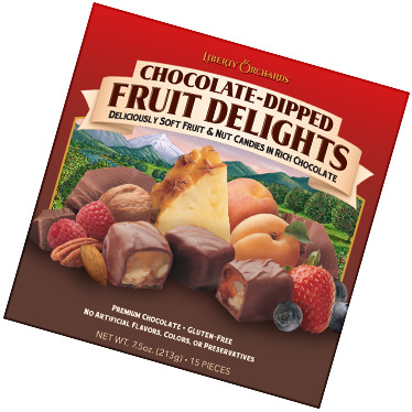 Chocolate-Covered Fruit Delights