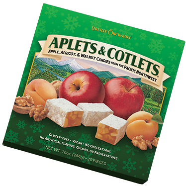 Aplets & Cotlets Square Holiday Gift Box
