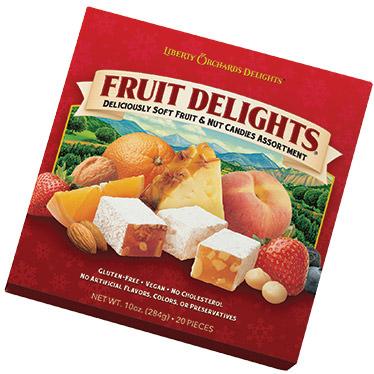 Fruit Delights Square Box
