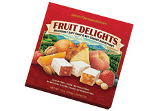 Fruit Delights Square Box