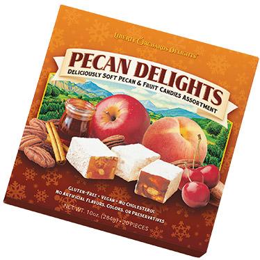 Pecan Delights Square Boxes