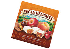 Pecan Delights Square Holiday Boxes