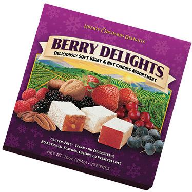 Berry Delights Square Box