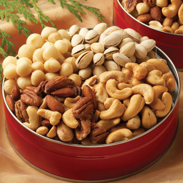 Signature Nuts Gift TIns