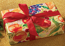 Orchard Bar Tidings Wrapped Gift