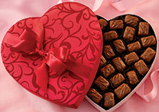 SOLD OUT! Fruit Chocolates Valentine Hearts