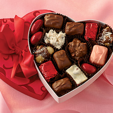 Orchard Chocolates Candy Heart