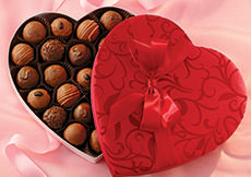 Liberty Orchards Truffles Heart