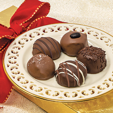 Hand-Crafted Holiday Truffles
