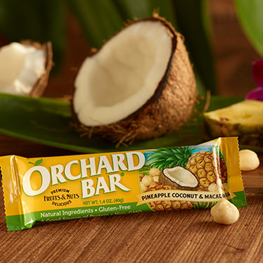 Pineapple-Coconut & Macadamia Orchard Bar