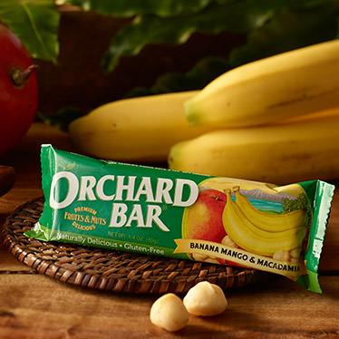 Banana-Mango Macadamia Orchard Bar