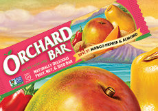 Spicy Mango Papaya & Almond Orchard Bar