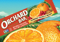 Cranberry-Orange & Walnut Orchard Bar