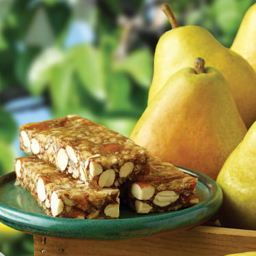 Pear Almond Crunch Orchard Bar