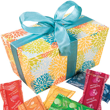 Fruit and Nut Minis Ballotin Gift Box