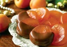 Glacéed Apricots