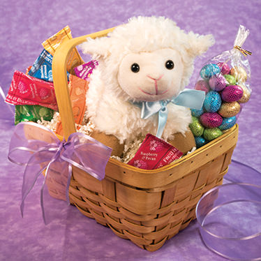 Easter gifts lovable lamb basket lovable lamb basket negle Images