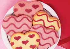 NEW! Shortbread Cookie Hearts Gift