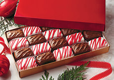 Holiday Checkerboard Cremes,