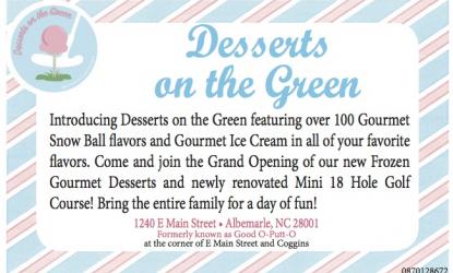 Desserts on the Green Coupon     Desserts   Restaurants
