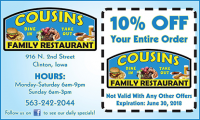 Cousin Family Restaurant