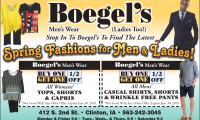 Boegels Mens Wear