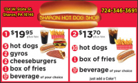 Sharon Hot Dog Shop