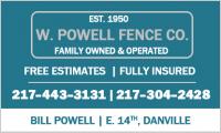 W. Powell Fence Co.