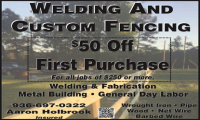 Welding and Custom Fencing