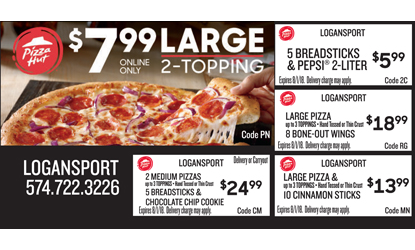 Popular Expired Pizza Hut Promo Codes
