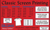 Classic Screen Printing