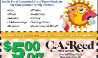 C.A. Reed Party Supplies