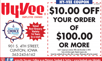 HyVee Coupon | | Grocery Stores | Retail and Services