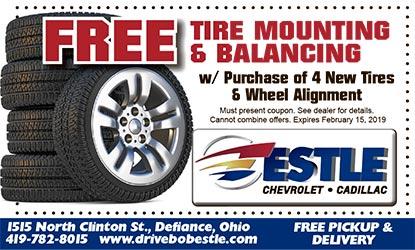 Estle Chevrolet Cadillac Coupon All Coupons Tires Automotive