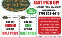The Original Italian Pizza and Restaurant - L