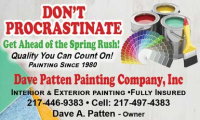 Dave Patten Painting Co, Inc