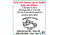 Iron Horse Tattoo