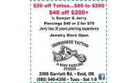 Iron Horse Tattoo