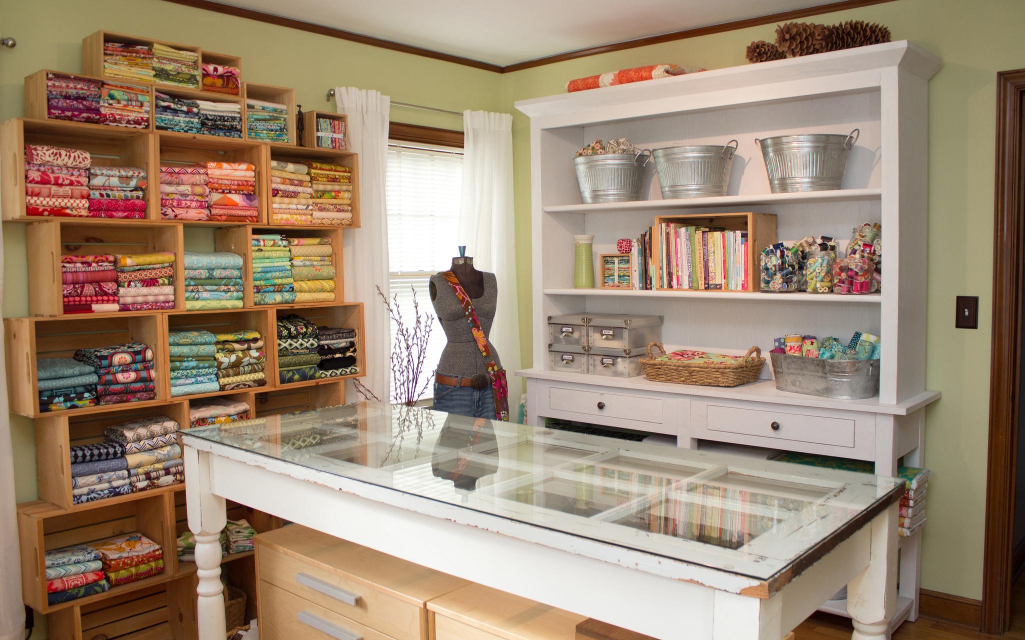 Karen S Sewing Craft Room Craft Room Tours Cut Out Keep Craft Blog